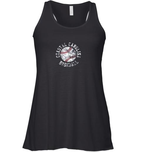Vintage Coastal Carolina Baseball Shirt Racerback Tank