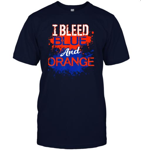 jyvh i bleed blue and orange fan shirt football soccer baseball jersey t shirt 60 front navy