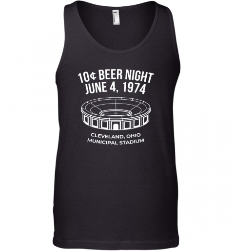 Cleveland Baseball Shirt Retro 10 Cent Beer Night Tank Top