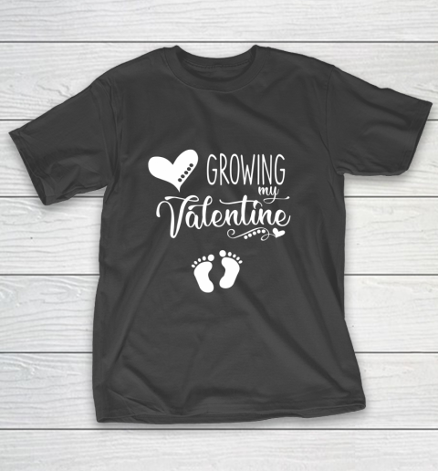 Growing my Valentine Tshirt for Wife T-Shirt