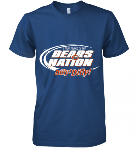 lyjn a true friend of the bears nation premium guys tee 5 front royal