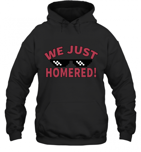 Isan Diaz We Just Homered Deal With It Hoodie