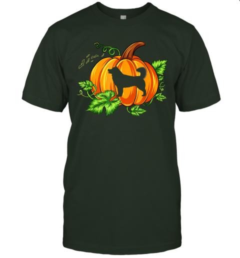 Funny Halloween Costume Alaskan Malamute Dog Pumpkin Gifts T-Shirt