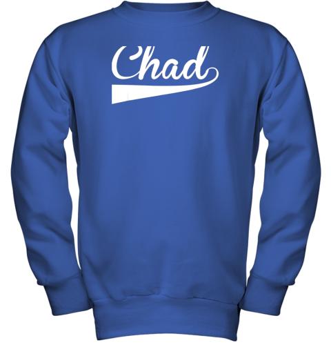 zcpf chad country name baseball softball styled youth sweatshirt 47 front royal