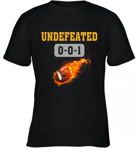 NFL JACKSONVILLE JAGUARS Logo Undefeated Youth T-Shirt
