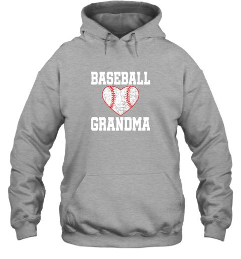 q4mx vintage baseball grandma funny gift hoodie 23 front sport grey