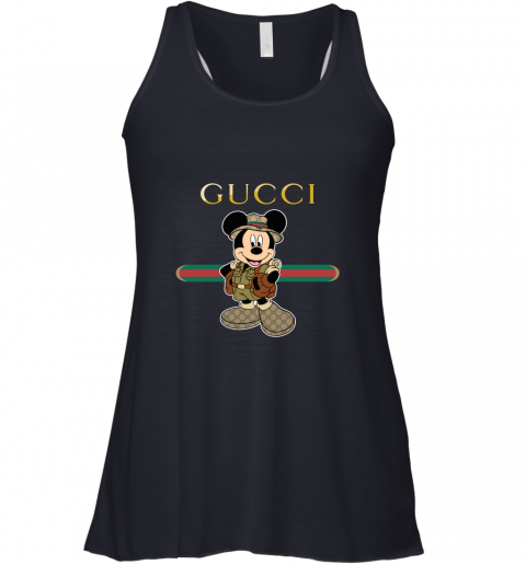Gucci Safari Mickey Mouse Racerback Tank