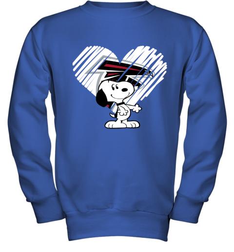 52yn a happy christmas with atlanta falcons snoopy youth sweatshirt 47 front royal