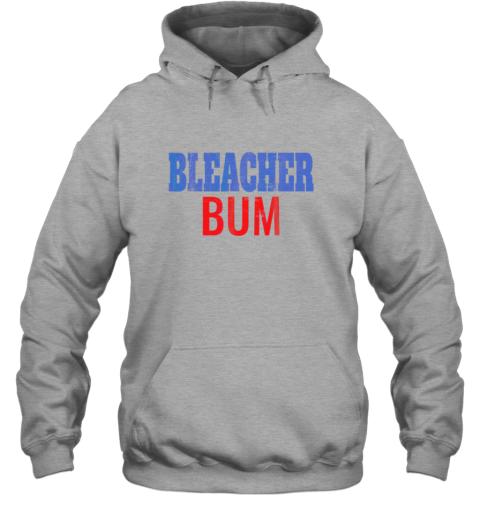 rsls bleacher bum original chicago baseball distressed hoodie 23 front sport grey