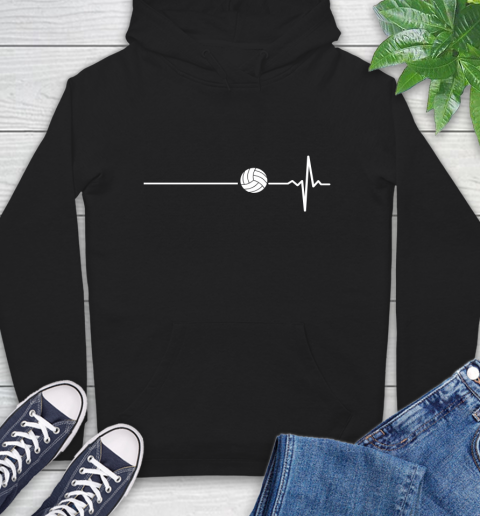 Volleyball This Is How My Heart Beats Hoodie