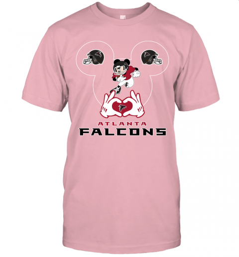 zgyh i love the falcons mickey mouse atlanta falcons jersey t shirt 60 front pink