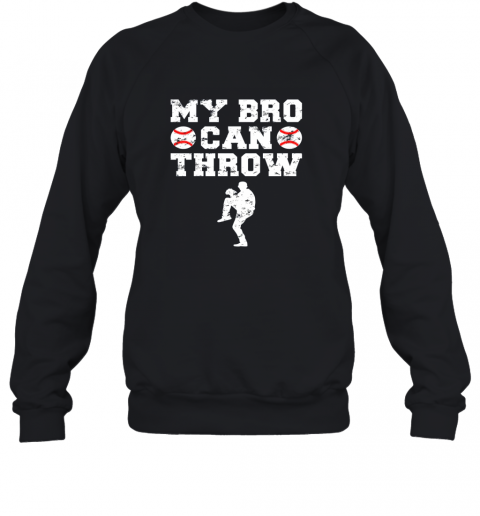 Kids Cute Baseball Brother Sister Funny Shirt Cool Gift Pitcher Sweatshirt