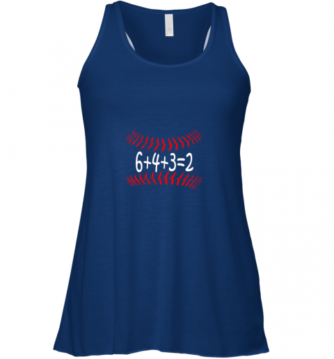 pbpf funny baseball 6432 double play shirt i gift 6 4 32 math flowy tank 32 front true royal