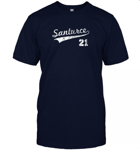 shyt vintage distressed santurce 21 puerto rico baseball jersey t shirt 60 front navy