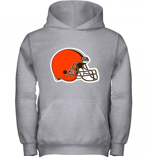 3qw3 cleveland browns nfl pro line by fanatics branded brown victory youth hoodie 43 front sport grey