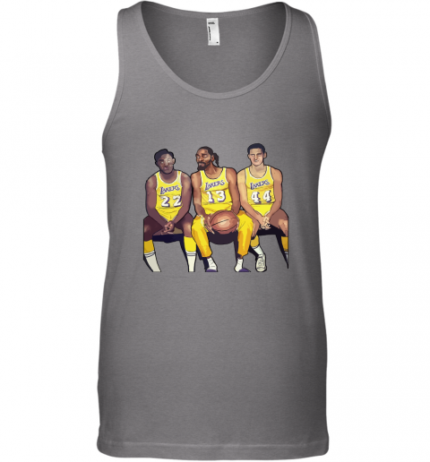 Elgin Baylor x Snoop Dogg x Jerry West Funny Tank Top