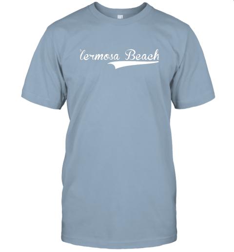p1qo hermosa beach baseball softball styled jersey t shirt 60 front light blue