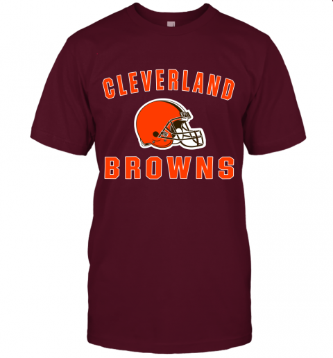 6lfm cleveland browns nfl line by fanatics branded brown victory jersey t shirt 60 front maroon