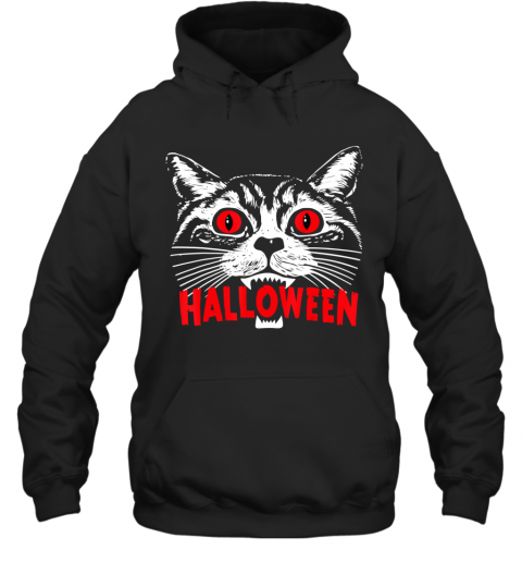 Purr Evil Satanic Cat Halloween Gift For Cat Lovers Hoodie