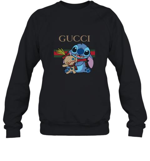 Gucci Stripe Lilo And Stitch Stay Stylish Sweatshirt