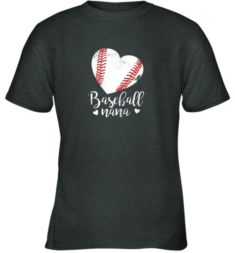 1up8 funny baseball nana shirt gift for men women youth t shirt 26 front dark heather