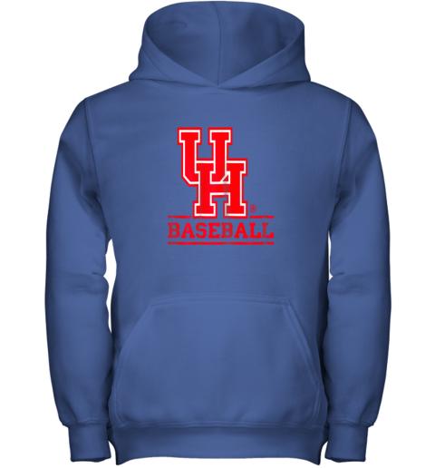 23lf university of houston cougars baseball shirt youth hoodie 43 front royal