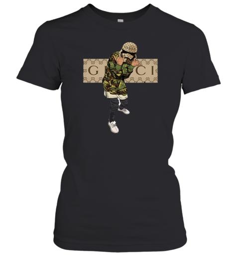 Gucci Gang Hiphop Womens T-Shirt