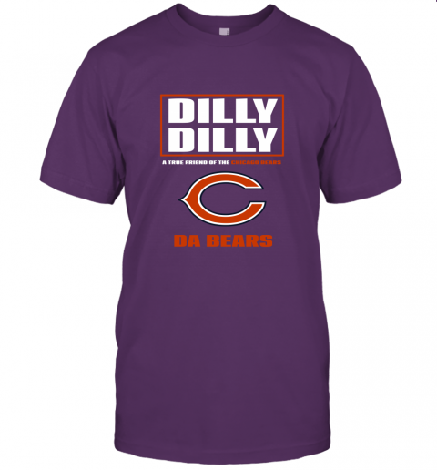 7nyu dilly dilly a true friend of the chicago bears jersey t shirt 60 front team purple