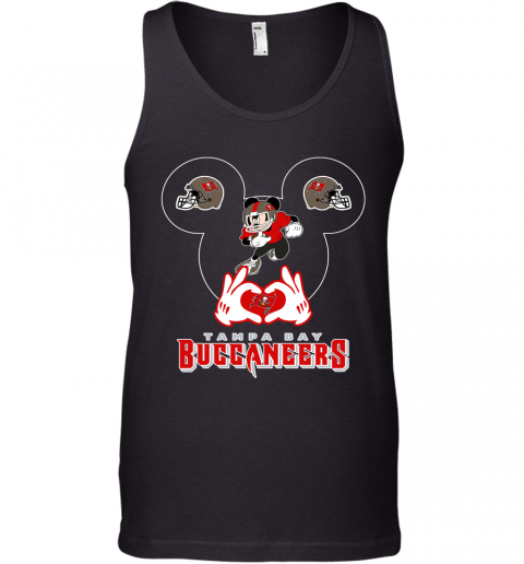 I Love The Buccaneers Mickey Mouse Tampa Bay Buccaneers s Tank Top