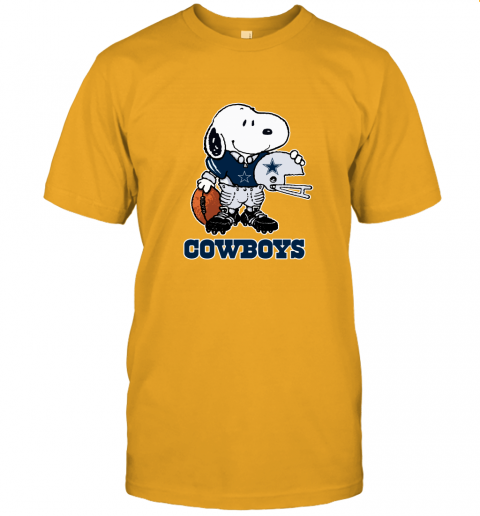 Snoopy A Strong And Proud Dallas Cowboys Player NFL Unisex Jersey Tee