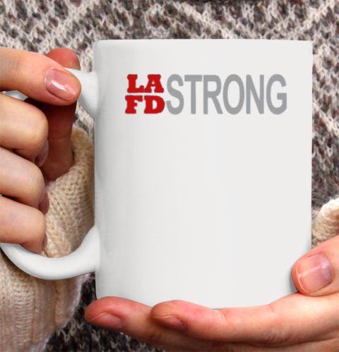 LAFD Strong Ceramic Mug 11oz 2