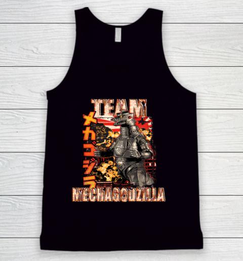 Team Mechagodzilla Japan Vintage Style Tank Top