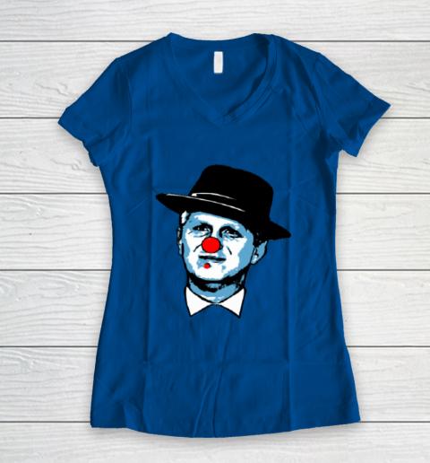Michael Rapaport Clown Women's V-Neck T-Shirt 7