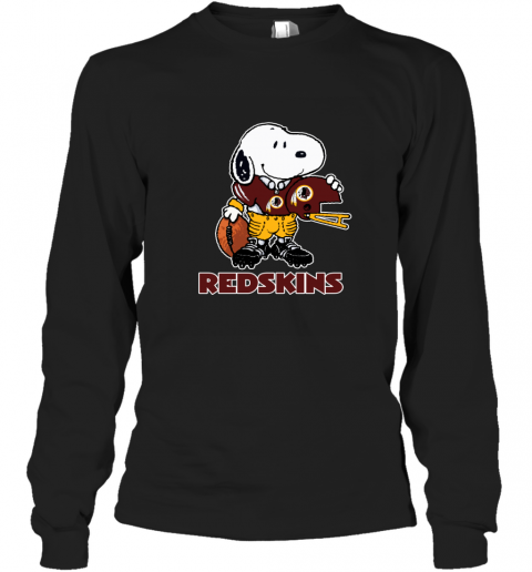 Snoopy A Strong And Proud Washington Redskins NFL Long Sleeve T-Shirt