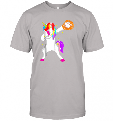 0eu3 softball dabbing unicorn baseball girls teens jersey t shirt 60 front ash
