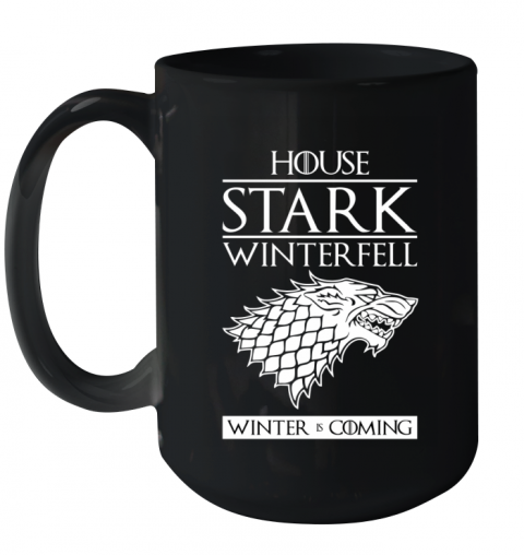HOUSE STARK Ceramic Mug 15oz