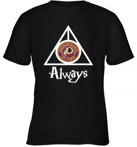 Always Love The Washington Redskins x Harry Potter Mashup NFL Youth T-Shirt