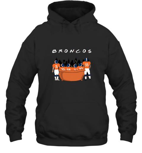 The Denver Broncos Together F.R.I.E.N.D.S NFL Hoodie