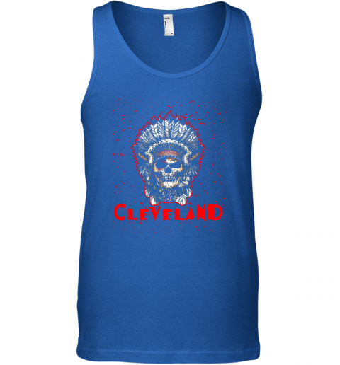 stoq cleveland hometown indian tribe vintage baseball fan awesome unisex tank 17 front royal