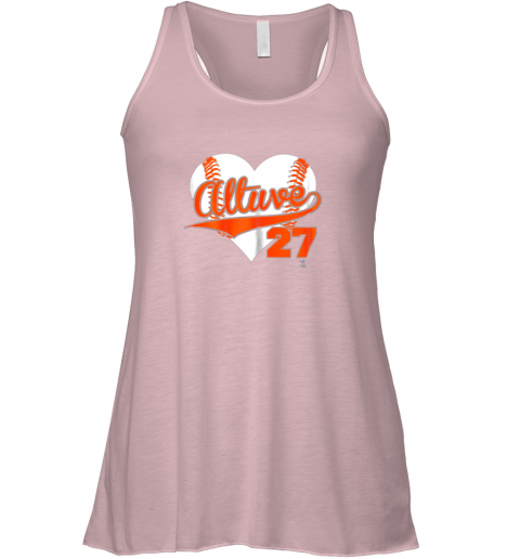 nqat jose altuve baseball heart shirtapparel flowy tank 32 front soft pink