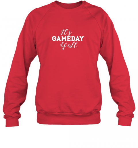 ttpd it39 s game day y39 all football baseball basketball sweatshirt 35 front red