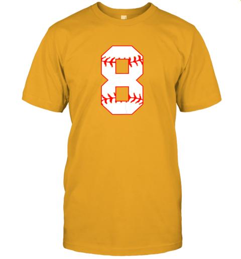sl1c cute eighth birthday party 8th baseball shirt born 2011 jersey t shirt 60 front gold