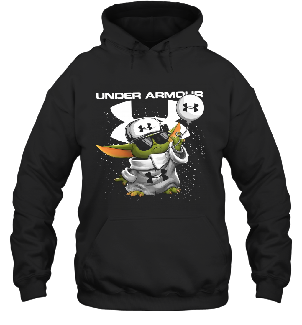 Baby Yoda Under Armour Vacay Mode Hoodie