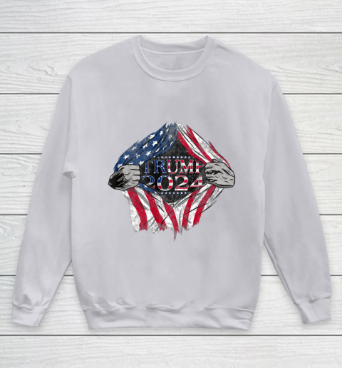 Pro Trump Shirt Trump 2024 Youth Sweatshirt 3