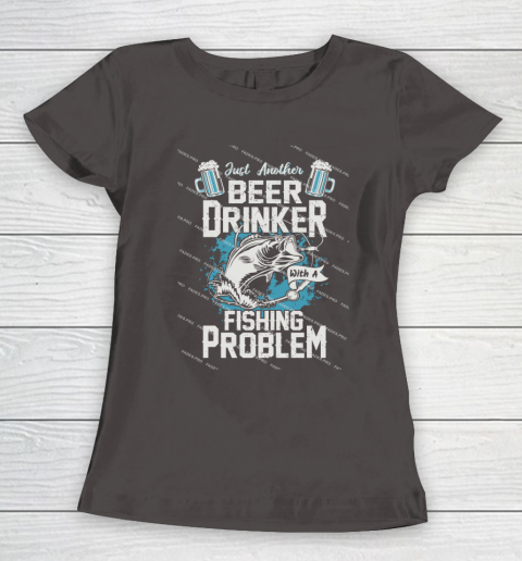 Beer Lover Funny Shirt Fishing ANd Beer Women's T-Shirt 7