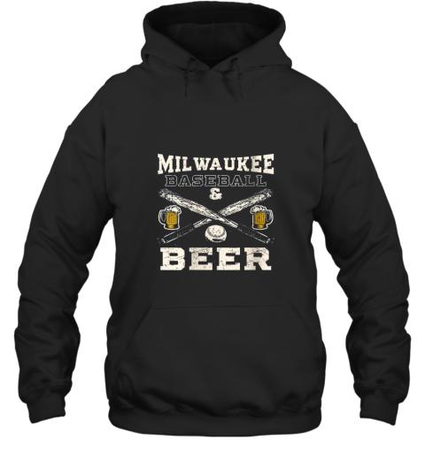 Love Milwaukee Love Baseball Hoodie