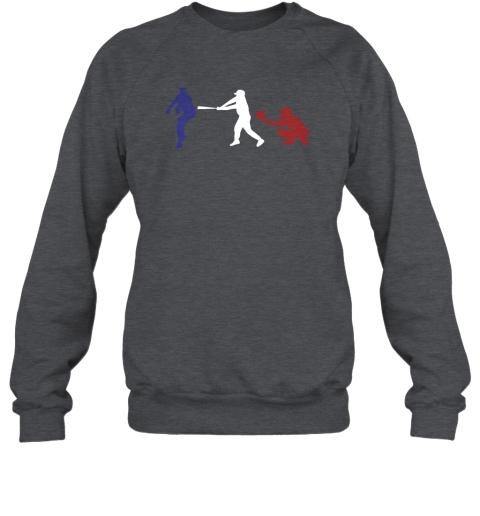 rfwr baseball usa flag american tradition spirit sweatshirt 35 front dark heather