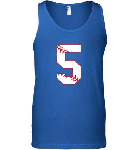 65vn cute fifth birthday party 5th baseball shirt born 2014 unisex tank 17 front royal