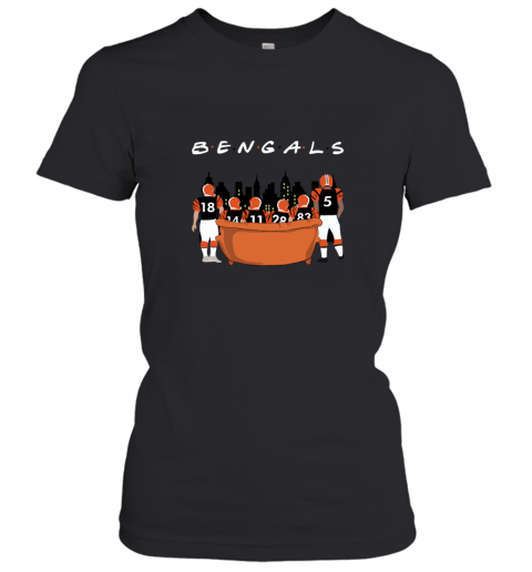 The Cleveland Browns Together F.R.I.E.N.D.S NFL Women's T-Shirt