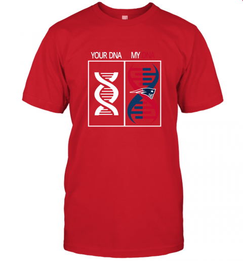 v1po my dna is the new england patriots football nfl jersey t shirt 60 front red